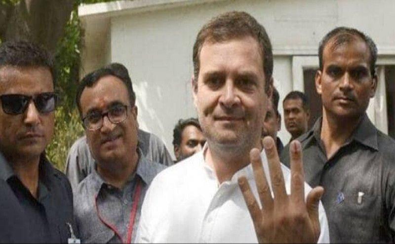 Lok Sabha Election 2019: वोटिंग के बाद बोले राहुल गांधी- मोदी ने किया नफरत का प्रचार, हम प्यार से लड़े चुनाव