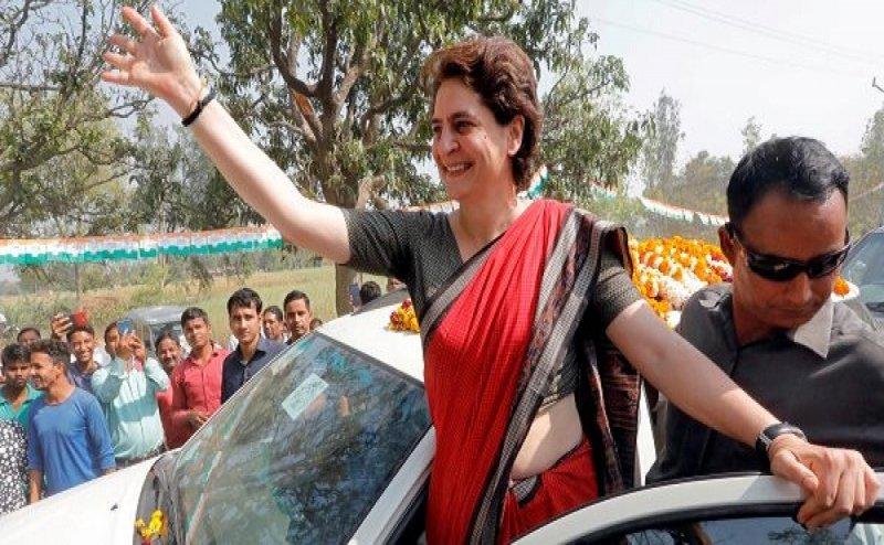 Lok Sabha Election 2019: फतेहपुर पहुंची प्रियंका गांधी, बोलीं- धर्म के प्रभाव में आकर न करे मतदान