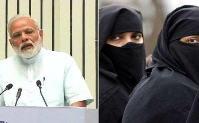 तीन तलाक पर मोदी का बड़ा बयान, कहा- इसे खत्म करने आगे आए मुस्लिम समाज