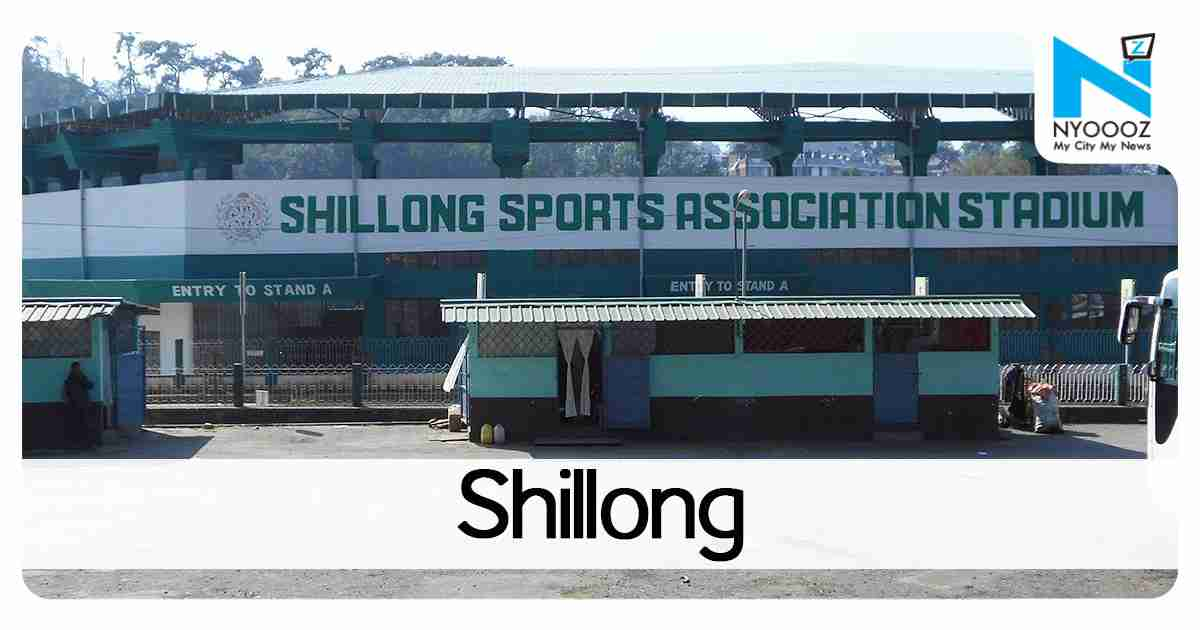 Army stages flag march in Shillong