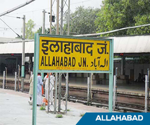 Damaged roads to welcome Dussehra processions in Allahabad