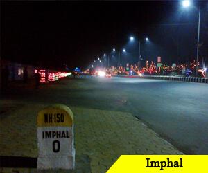 IED blast in Imphal, four injured