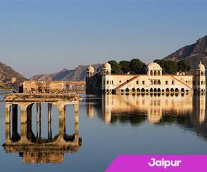 Jaipur enjoys a break from heat