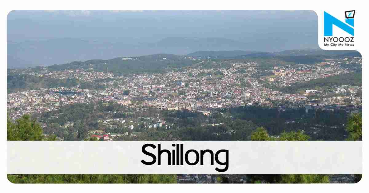 Shillong to be developed as 100th Smart City