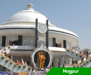 With its mix of infrastructure and culture, Nagpur has the potential to become the centre of development of the country, says President