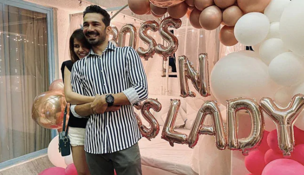 Abhinav Shukla welcomes Rubina Dilaik home with romantic surprise after her Bigg Boss 14 win