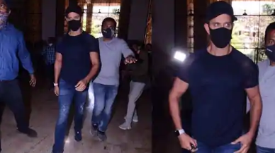 Hrithik Roshan reaches Crime Branch office to record statement against Kangana Ranaut