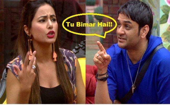 Bigg Boss 11 episode 12th: Vikas Gupta comments about Hina Khan's menses