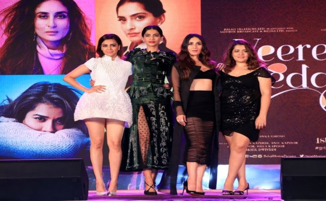 Kareena ROCKED while Sonam SHOCKED us at 'Veere Di Wedding' song launch