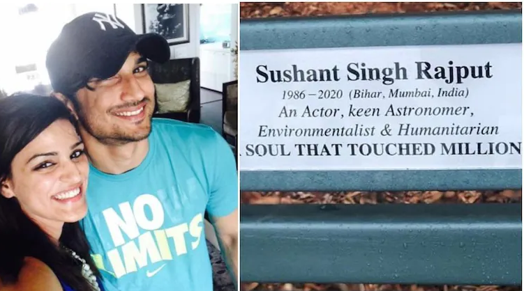 Benches named after Sushant Singh Rajput in Australia, sister Shweta shares pictures