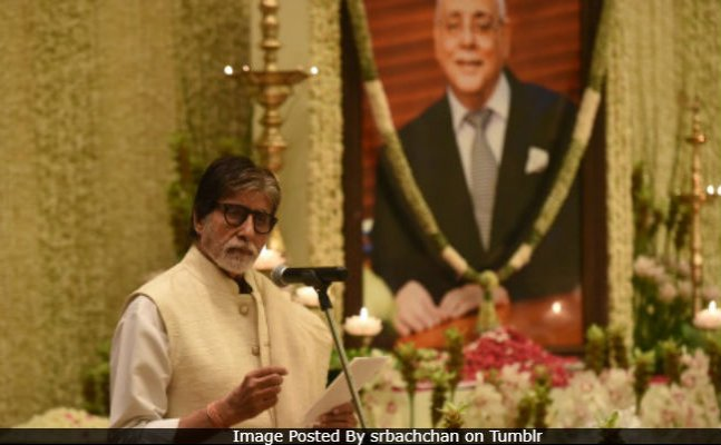 Amitabh, Abhishek, Karisma; Celebs attend Rajan Nanda's prayer meet