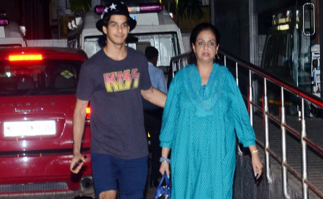 Shahid-Mira welcome a baby boy, actor's mom and Ishaan Khatter visit them
