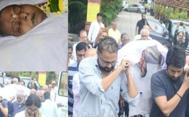 Rita Bhaduri funeral: Friends and family pay their last respects