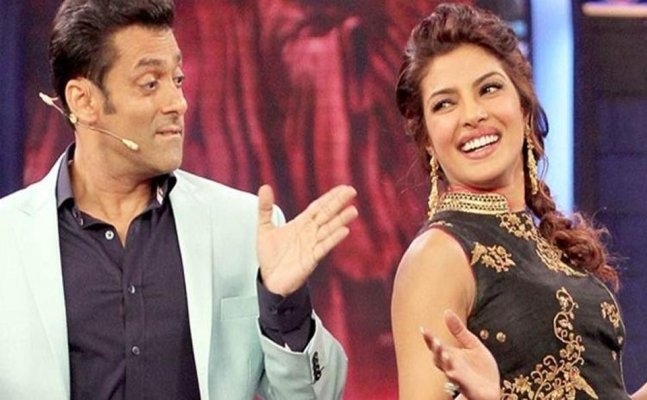 Salman hints Priyanka's wedding is the reason for her to quit 'Bharat'