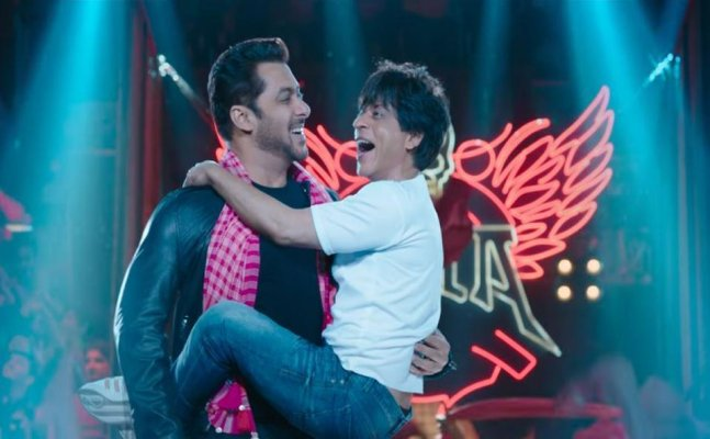 'ZERO' new teaser: Shah Rukh and Salman Khan's special 'dancing' gift for Eid