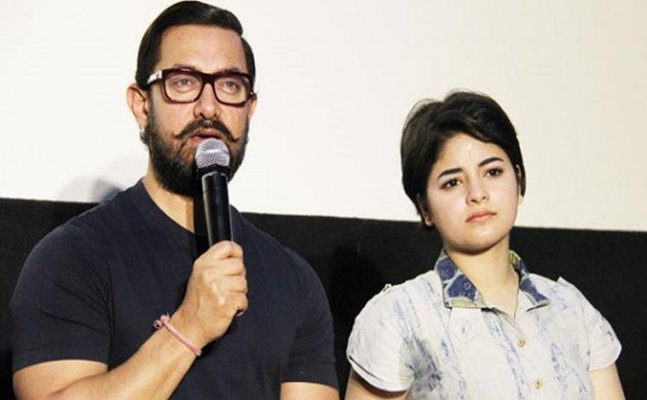 Aamir Khan impressed by Zaira Wasim`s perfectionism