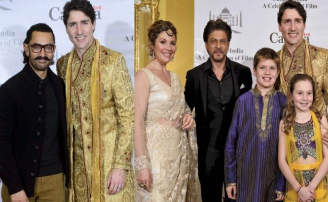 Shah Rukh to Aamir; celebs meet Canadian PM Justin Trudeau