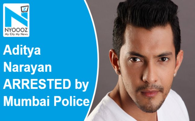 Aditya Narayan detained by Mumbai Police
