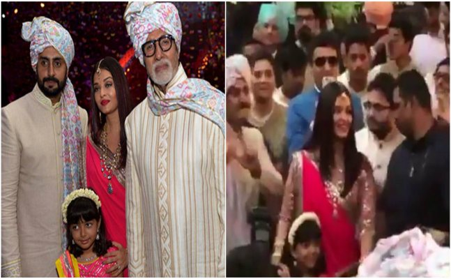 WATCH: Aishwarya dancing with Aaradhya at a