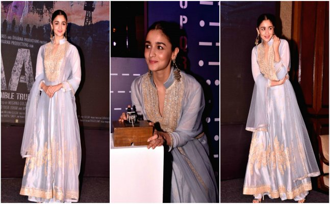 Alia Bhatt looks graceful and fresh in lavender anarkali