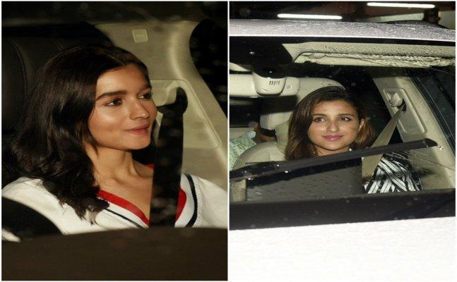 Alia Bhatt, Parineeti Chopra party with Priyanka Chopra, Nick Jonas. See pics