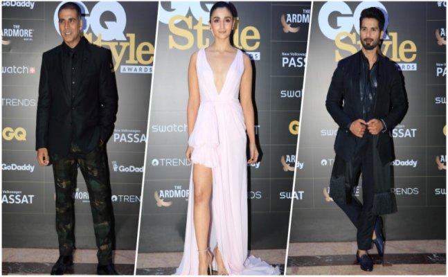GQ Awards 2018: Alia Bhatt to Shahid Kapoor, celebs grace the red carpet