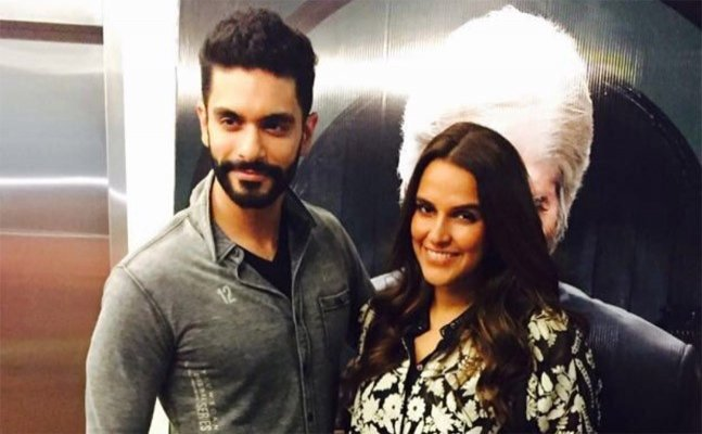 Neha Dhupia's father reacts to the actress' pregnancy rumours