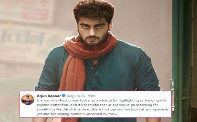 Arjun Kapoor backs Janhvi, SLAMS website for posting disgusting story