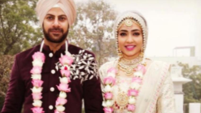 Karan Veer Mehra ties knot with Nidhi V Seth