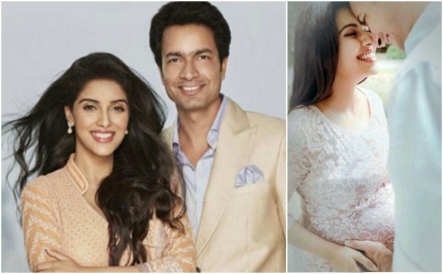 FIRST PIC: 'Ghajini' actress Asin blessed with baby girl