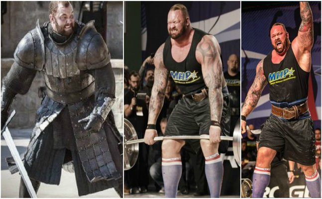 GOT's Mountain, Hafthor Bjornsson set a world record in deadlifting