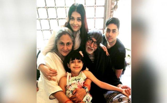 Aishwarya Rai shares posts for Jaya and Amitabh Bachchan's 45th wedding anniversary