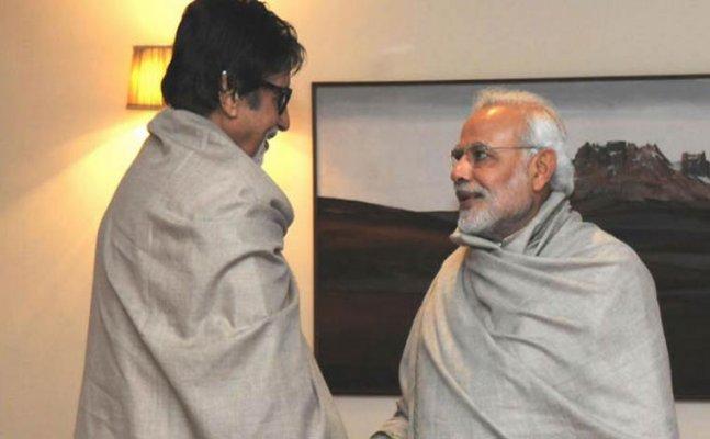 Big B to Kangana Ranaut; Celebs wish PM Modi on his bday