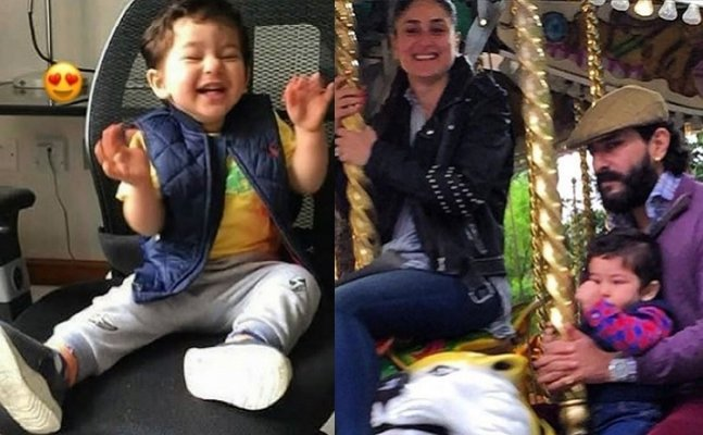 LONDON DIARIES: Kareena's Taimur's infectious smile will make your day!