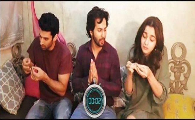 Alia, SRK, Ranbir; Celebs take up Sui Dhaaga Challenge like a pro