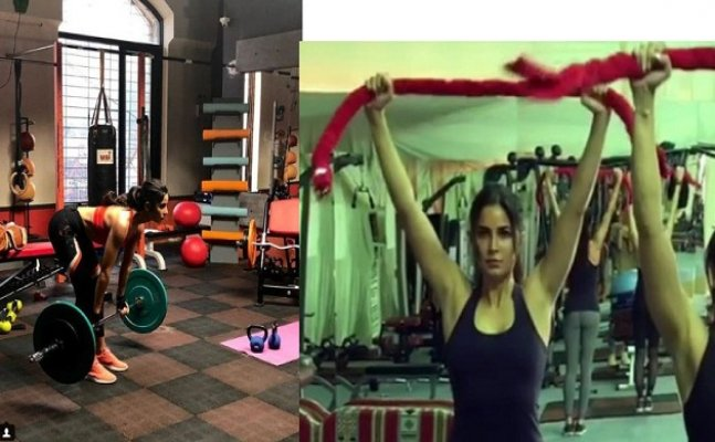Katrina Kaif's 'innovative ways of workout' will leave you inspired!