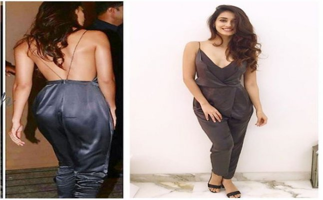 Disha Patani flaunts her sexy back in jumpsuit