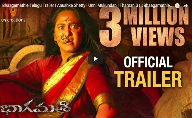 'Bhaagamathie' trailer starring Anushka Shetty will give you goosebumps