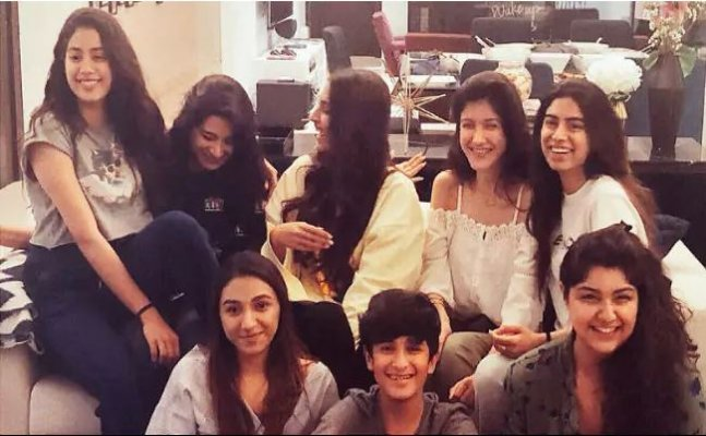 Janhvi Kapoor's bday: Sonam to Anshula, family celebrates big day