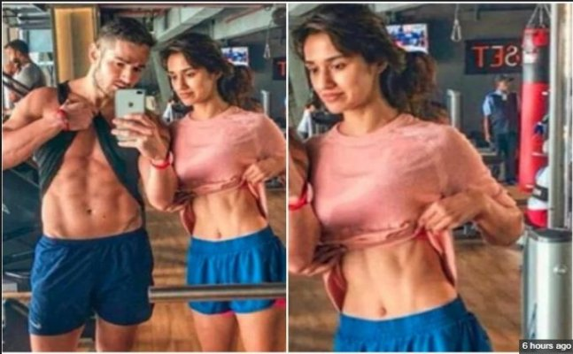 Tiger Shroff's 'Baaghi 2' co-star Disha Patani flaunts her washboard abs
