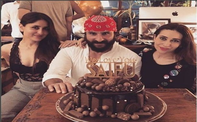 Kareena, Taimur, Sara; Family gets together to celebrate Saif's 48th bday
