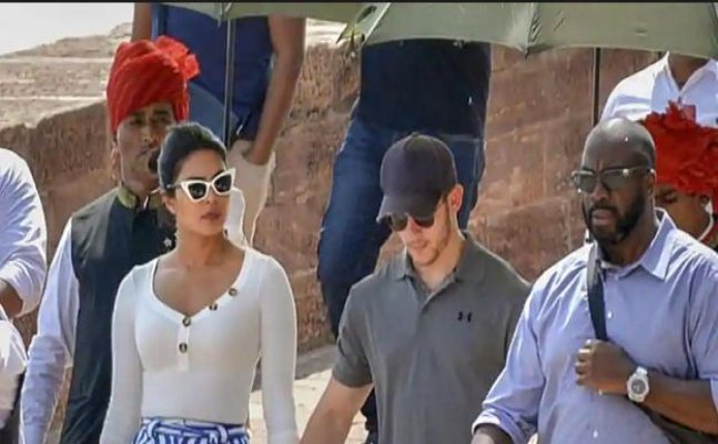 Priyanka and Nick spotted in Jodhpur to finalise their wedding destination