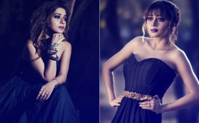 Tina Datta looks STUNNING in off-shoulder gowns