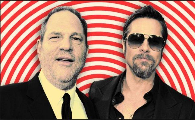 When Brad Pitt threatened to kill Harvey Weinstein