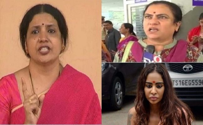 Jeevitha Rajsekhar exposes Sri Reddy in press conference