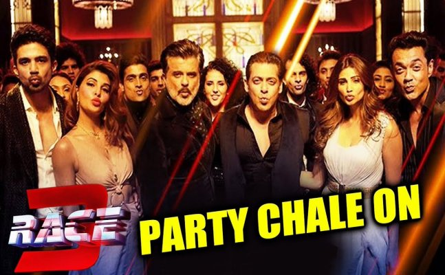 Checkout! Latest Race 3 song 'Party Chale On'