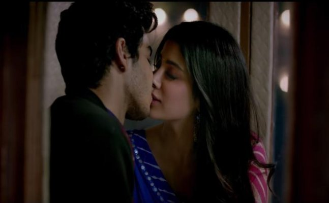Dhadak's 'Zingaat' song out: Janhvi-Ishaan's LIP-LOCK is magical