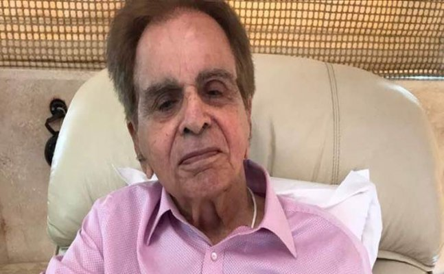 Dilip Kumar hospitalized due to chest infection