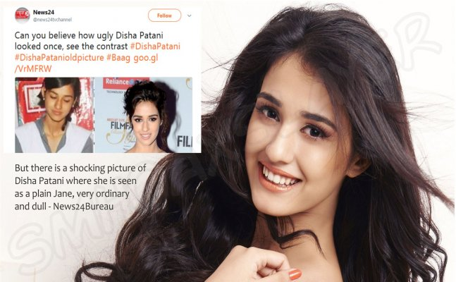 Disha Patani LASHES out at a news channel for calling her 'Ugly'