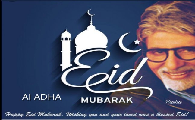 Big B, Salman Khan, Akshay Kumar; Celebs wish Eid Mubarak